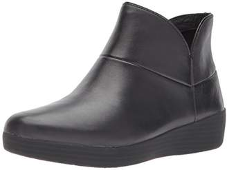 FitFlop Women's Supermod II Leather Ankle Boot
