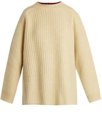 Calvin Klein Oversized contrast-panel sweater