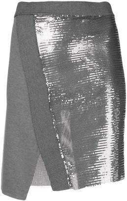 Paco Rabanne metallic mesh mini skirt
