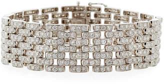 Diana M. Jewels 18k Seven-Row Diamond Link Bracelet