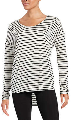 DKNY Yarn Dye Stripe Top