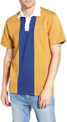 Saturdays NYC Jake Colorblock Short Sleeve Polo