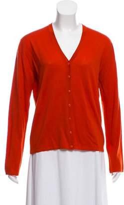 TSE Wool Long Sleeve Cardigan