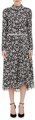 Osman Women's Embroidered Tulle Midi-Dress