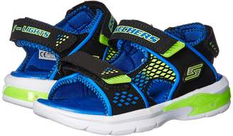 Skechers E-II Sandal Lights 90558L Boys Shoes