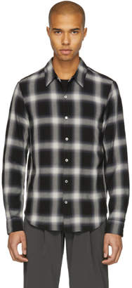 Attachment Black Check Shirt