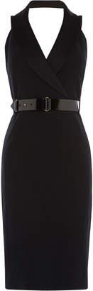 Karen Millen Halterneck Tuxedo Dress
