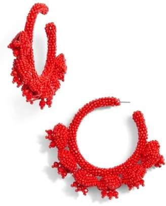 Sachin + Babi Grape Cluster Hoop Earrings