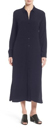Women's Eileen Fisher Tencel Shirtdress $338 thestylecure.com