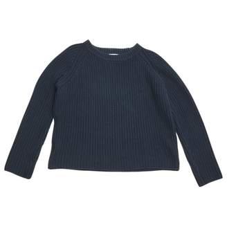 Frame Navy Cotton Knitwear