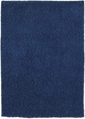 Oriental Weavers Heavenly Shag 73408 Blue/Blue 5' x 7' Area Rug