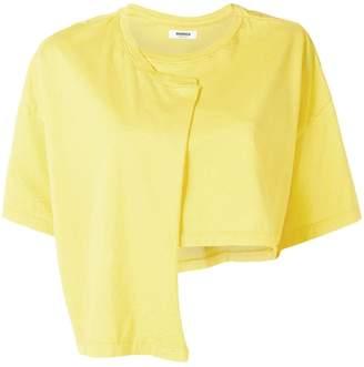 Marios asymmetric cropped T-shirt