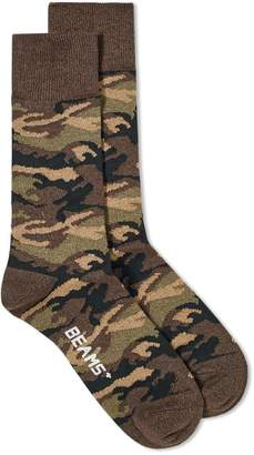 Beams Camo Sock