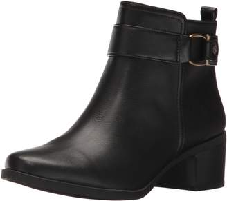 AK Anne Klein Sport Women's Jeannie Synthetic Ankle Boot
