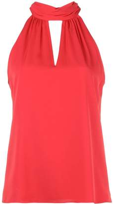 Milly key-hole neck blouse