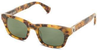 King Baby Studio Sunglasses Tokyo Tortoise Agent E19-0007 Polarized Wayfarer Sunglasses