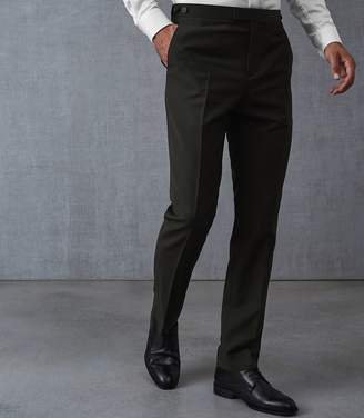 Reiss Disolve Wool Blend Slim Fit Trousers