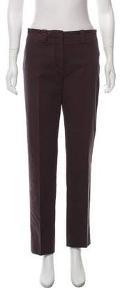 Loro Piana Mid-Rise Straight-Leg Pants