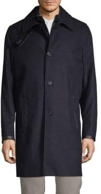 The Kooples 2-in-1 Three-Button Coat