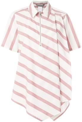 Sportmax zipped short sleeve shirt