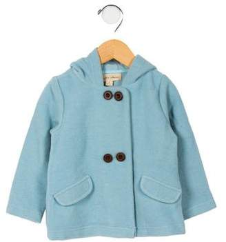 La Petite Collection Girls' Hooded Wool Coat w/ Tags
