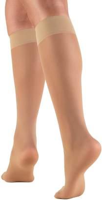 ESLI lady's sheer knee-high stockings Accent 20 den (, 12)