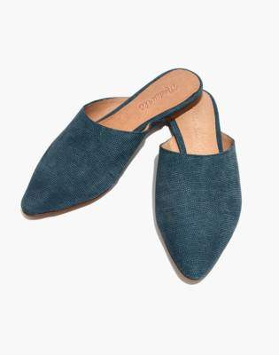 Madewell The Remi Mule in Stamped Lizard