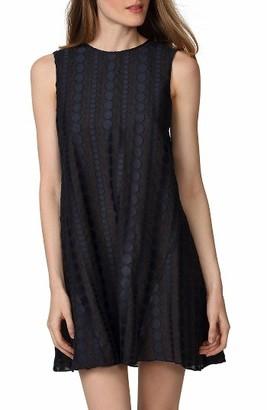 Women's Donna Morgan Jacquard Trapeze Dress $118 thestylecure.com