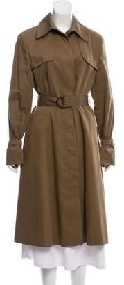 Valentino Long Trench Coat