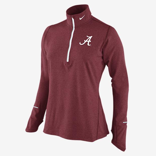 Nike Dri-FIT Element Half-Zip (Alabama) Women's Running Top