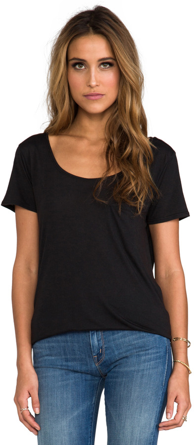 James Perse Oversize Collage Tee