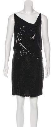 Robert Rodriguez Silk Sequined Dress w/ Tags