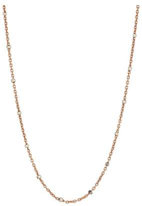 Chan Luu Sterling Silver Dainty Necklace with Crystal Beading Necklace