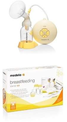 Medela Swing Electric Breast Pump and Breastfeeding Starter Kit Bundle