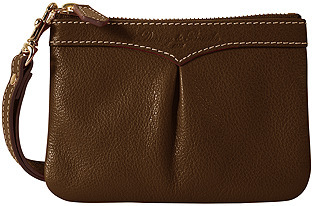 Medium Pleated Wristlet