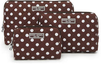 Henri Bendel Quilted Cosmetic Case Trio