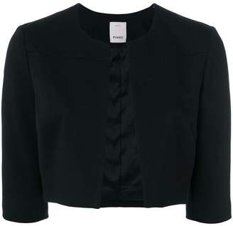 Pinko open front cropped jacket