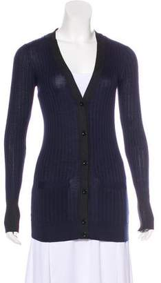 Marc by Marc Jacobs Silk V-Neck Cardigan