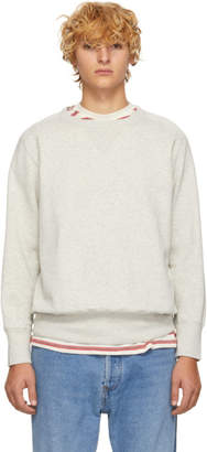 Levi's Clothing Grey Bay Meadows Sweatshirt