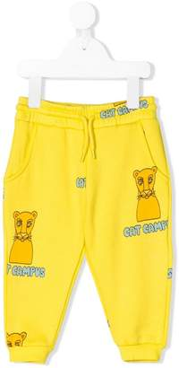 Mini Rodini Cat Campus jogging bottoms