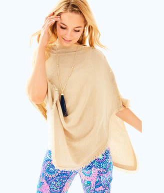 Lilly Pulitzer Womens Harp Cashmere Wrap