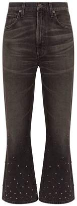 Citizens of Humanity Estella High-Rise Ankle Flare Jeans