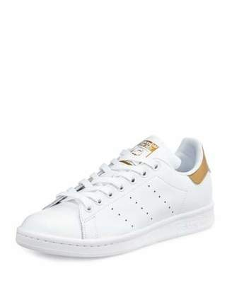 Adidas Stan Smith Fashion Sneaker, White/Tech Rust $80 thestylecure.com