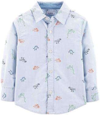 Carter's Button-Front Shirt - Toddler Boys