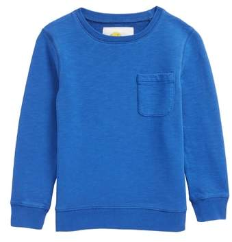 Mini Boden Pocket Crewneck Sweatshirt