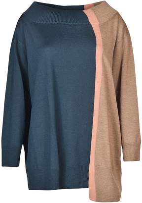 Antonio Marras Asymmetric Hem Sweater