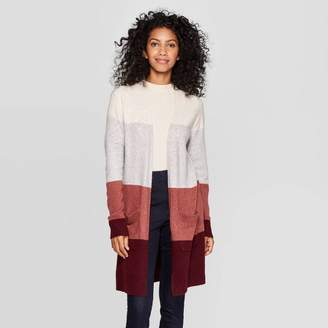 A New Day Women's Long Sleeve Open Layering Sweater Cardigan S