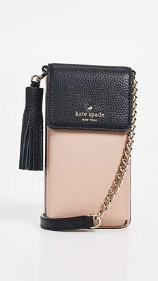 Black Leather Shoulder Bag With Tassels - ShopStyle Australia 6e58ca2565