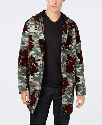 INC International Concepts Inc Men's Camo-Print Flocket Parka, Created for Macy's