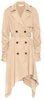 Jonathan Simkhai Draped cotton trench coat